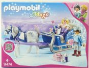 playmobil 09474 Sleigh with Royal Couple
